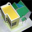 model of house addition